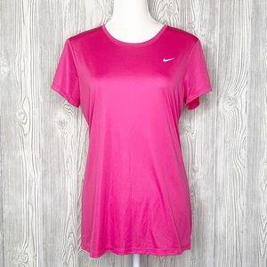 NWOT pink Nike Dri-Fit short sleeve t-shirt